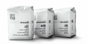 3 pack Coffee method Blend 1 2 3