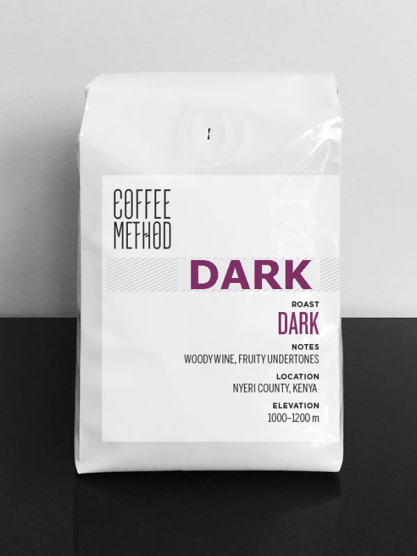 Coffee Method methodically roasted Dark