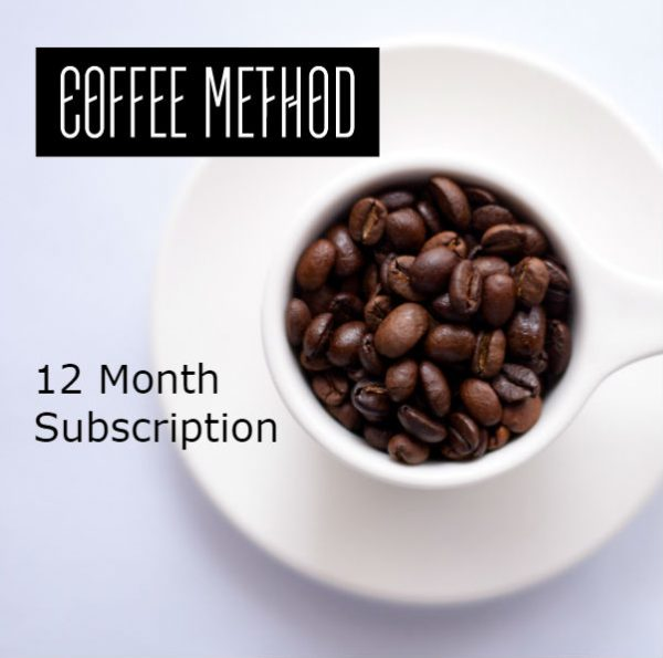 Coffee Method Subscription 12 months