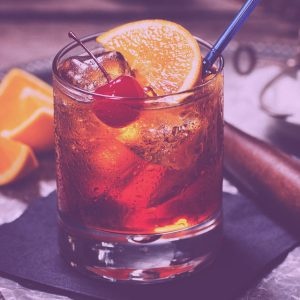 old fashioned mocktail